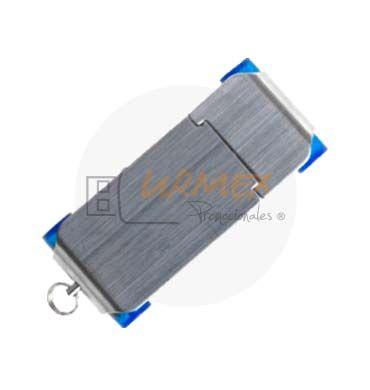 Memoria USB metalica